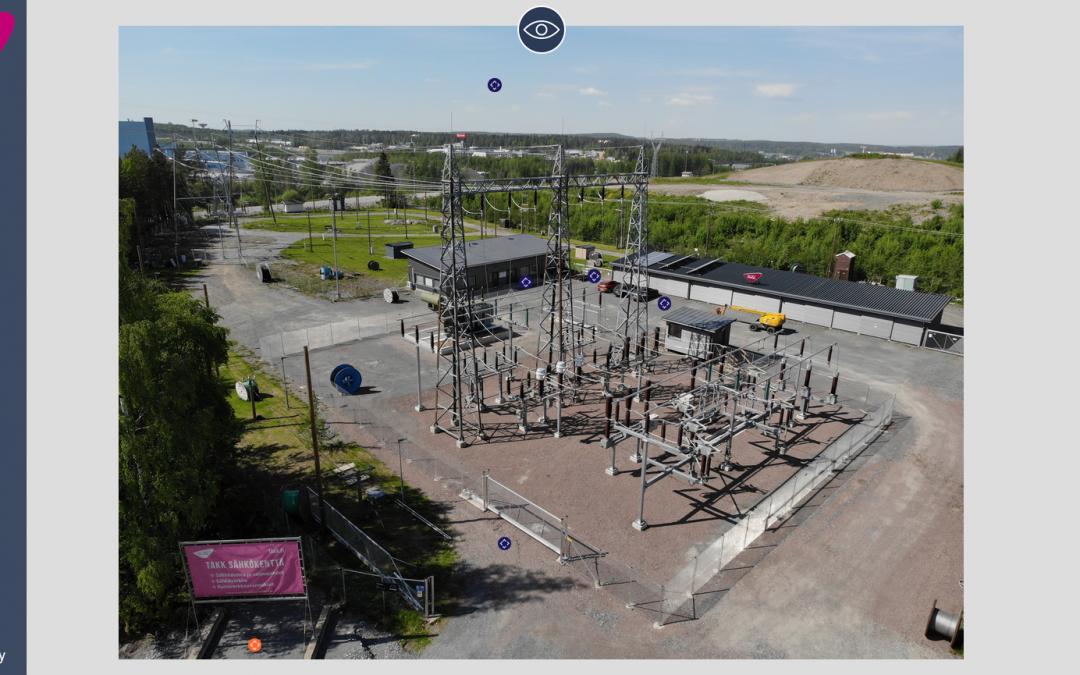 Rejlers teki sähkökenttä-oppimisympäristöstä virtuaaliversion